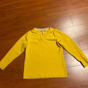 Banana Republic Gold Sweater Size Large